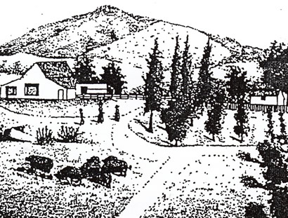 Lithograph Overmier Ranch